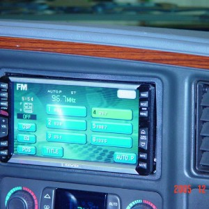 Cadillac radio install